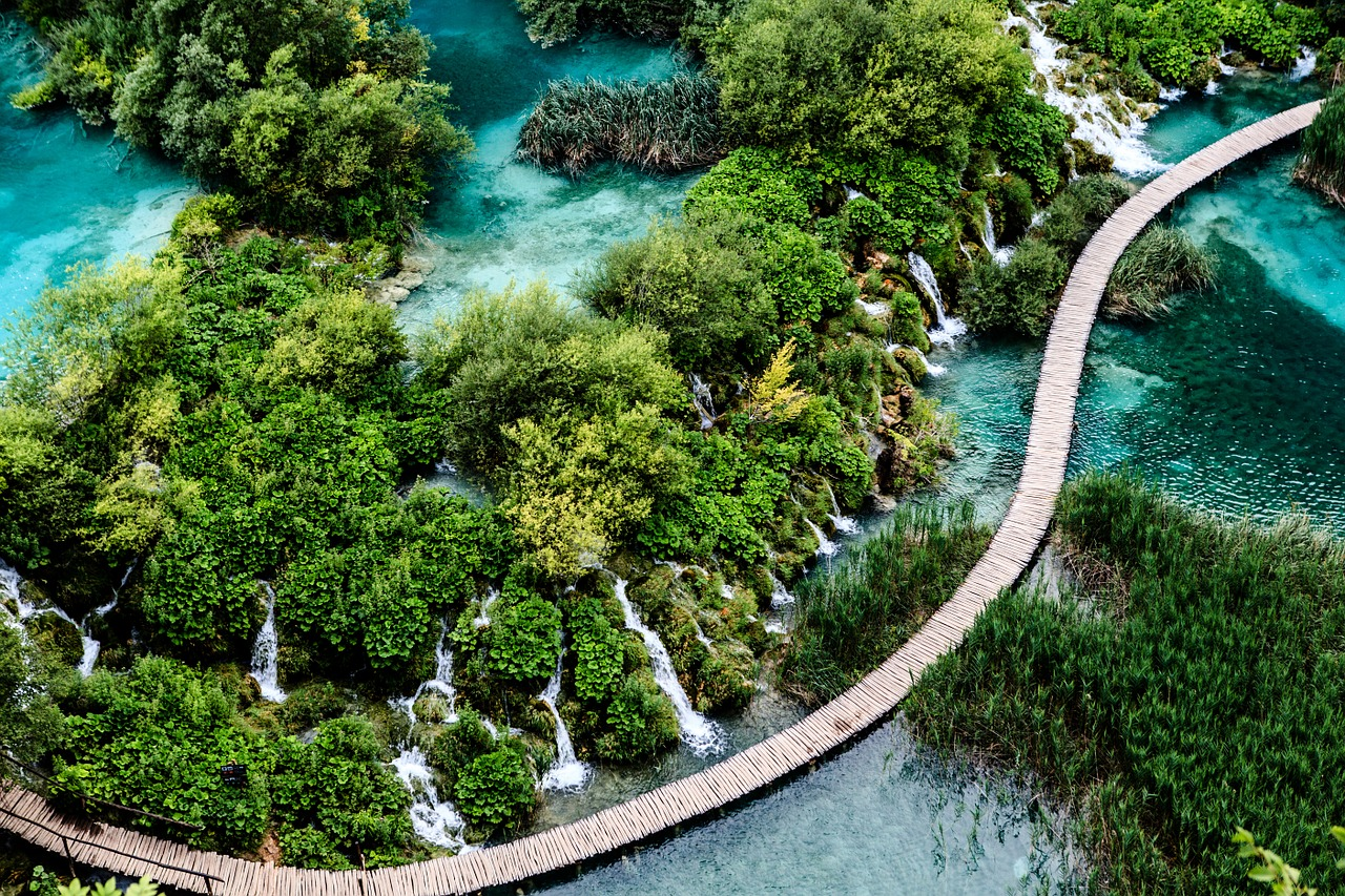 Plitvice Lakes National Park is one of many great Reasons To Love Croatia